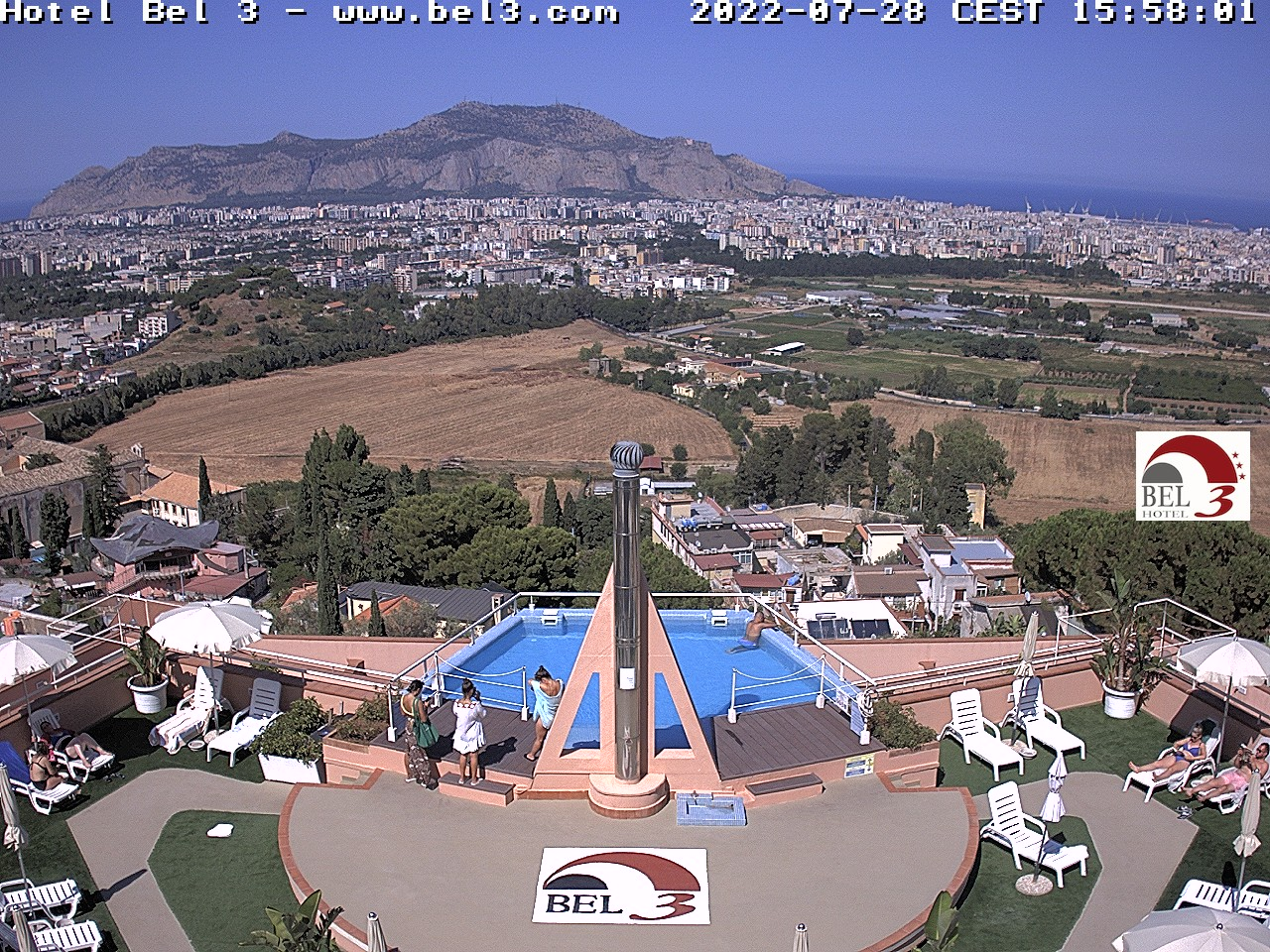 Webcam Palermo - Hotel Bel 3